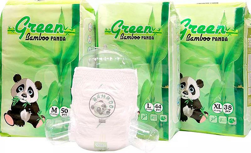 Трусики-подгузники Green Bamboo Panda
